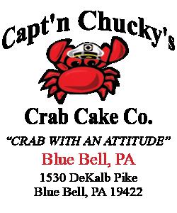 Captn Chuckys Crab Cake Co Blue Bell
