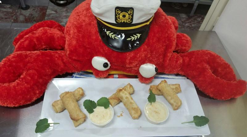 Shrimp and Crab Rolls