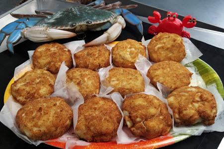 Mega Crab Cakes Captn chuckys