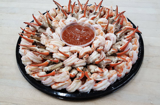 Shrimp & Crab Claw Party Tray
