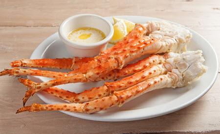 Crab legs captn chuckys