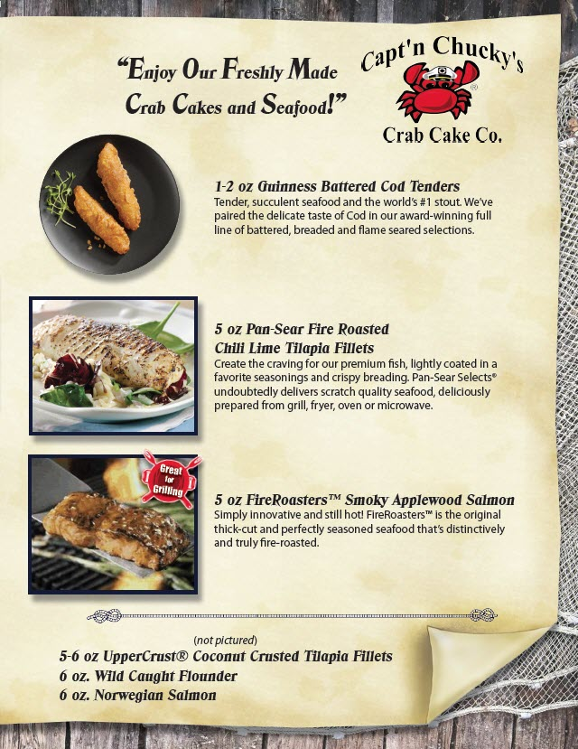 captn chuckys fish selections